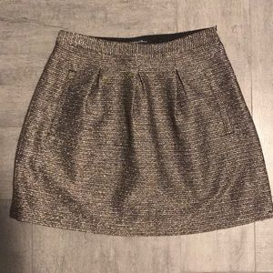Madewell Metallic Skirt size 2